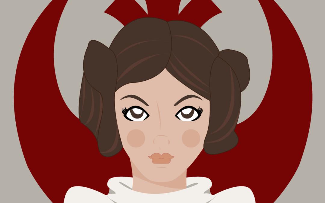 Mujeres en ficción: Princesa Leia