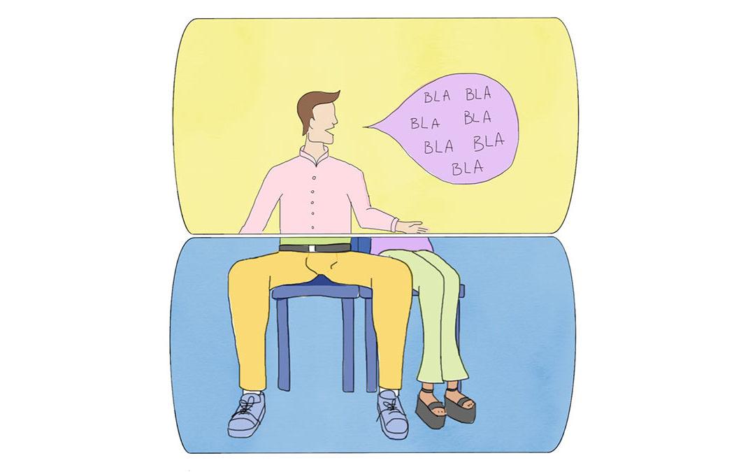 Manspreading y mansplaining: no son solo dos palabras parecidas