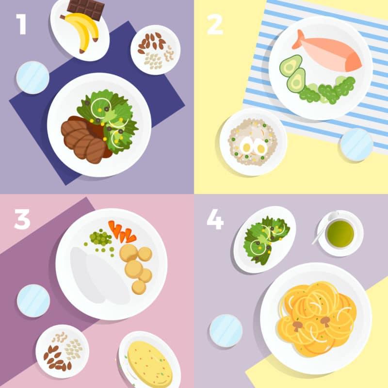 La mejor alimentación para tu ciclo