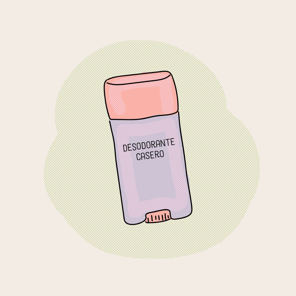 Prepará tu propio desodorante casero