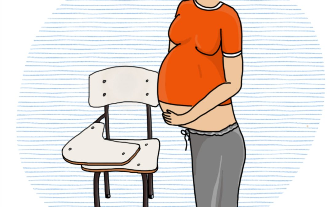 Estoy embarazada… ¿qué hago con el liceo?