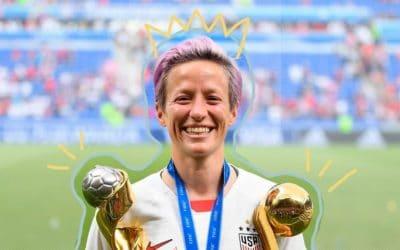 Sobre fútbol y su estrella del momento: Megan Rapinoe