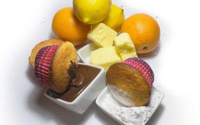 Tres baños fáciles para tortas o muffin