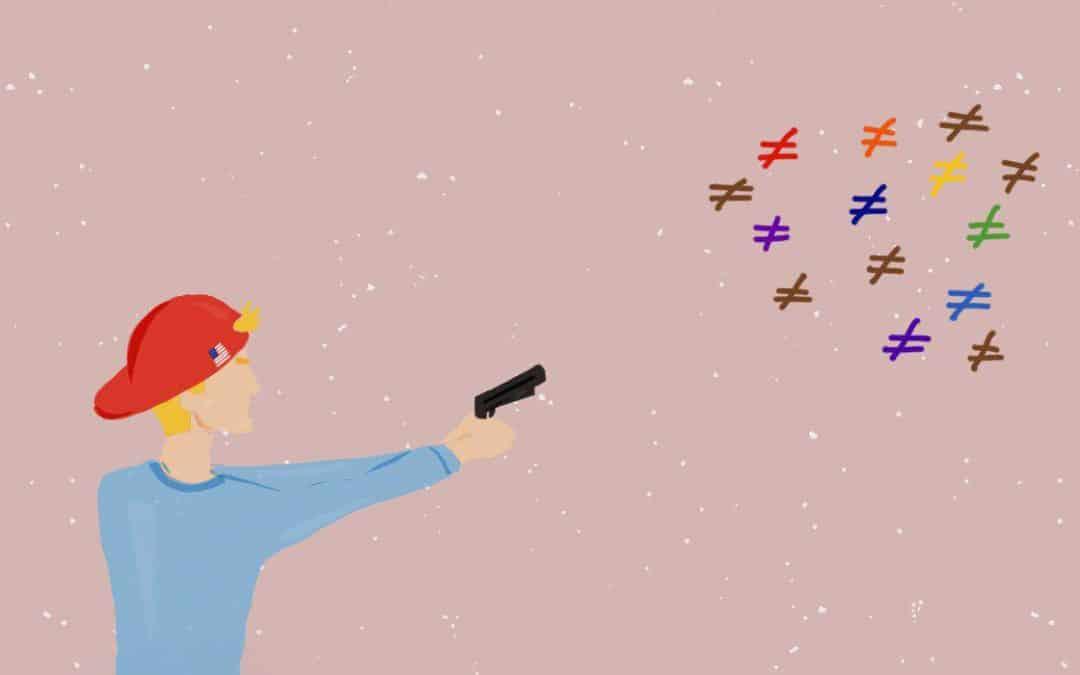 Armas y discursos de odio