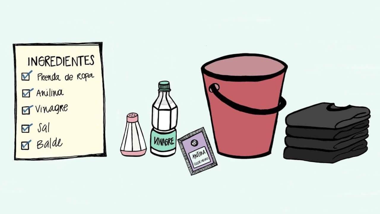 ilustración de los ingredientes
