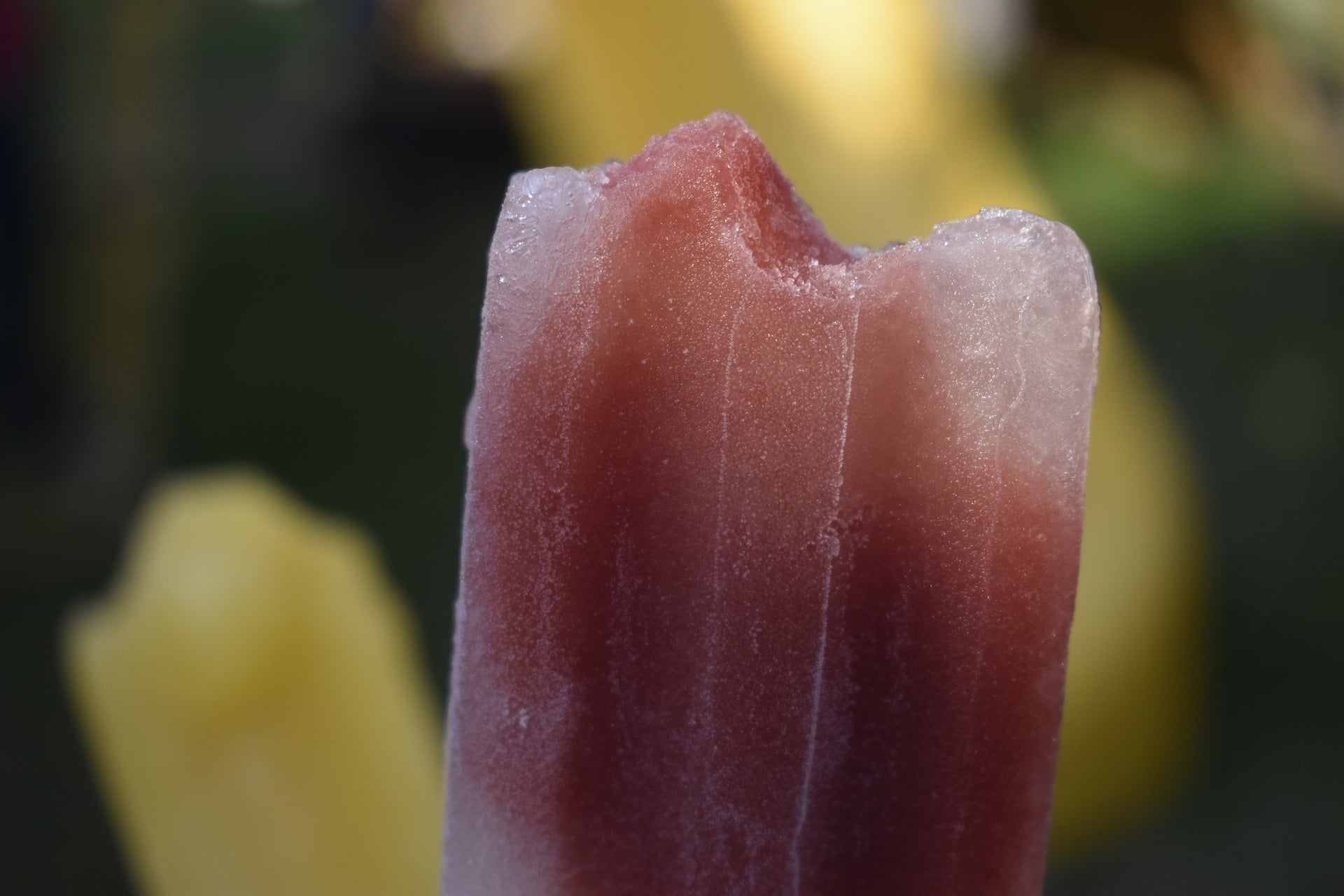 Foto de un palito helado