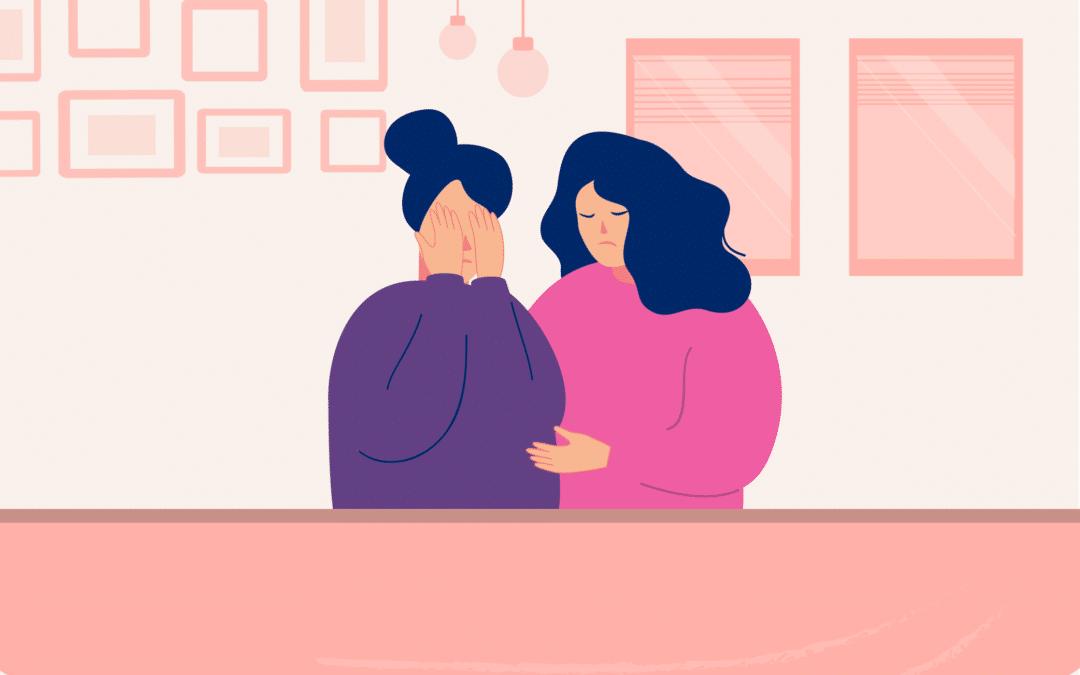 ¿Cómo puedo acompañar a alguien que sufre violencia de género?