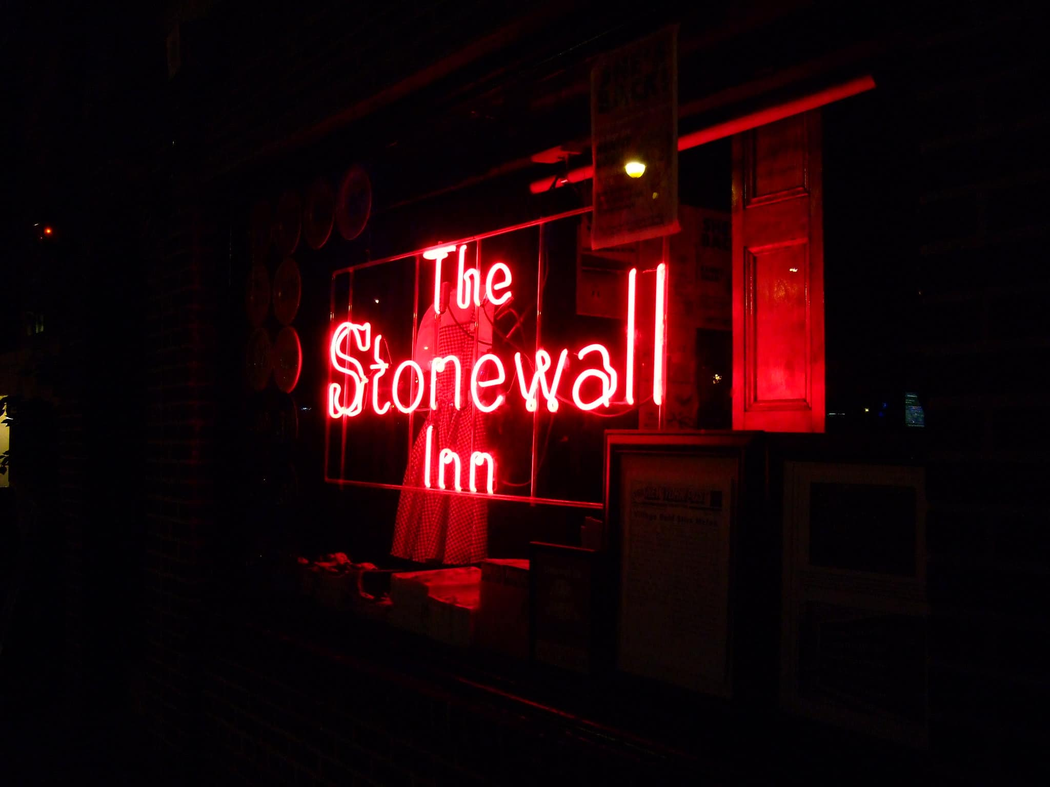 Cartel del bar The Stonewall Inn