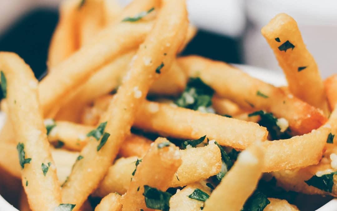 """Comida """"de sábado"""": gramajo vegano"""