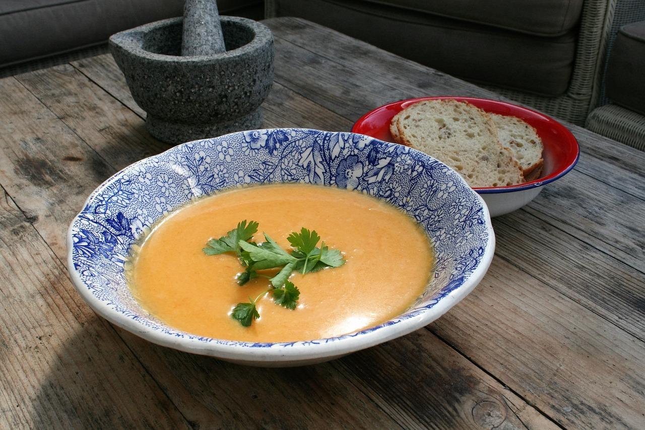 foto de una sopa
