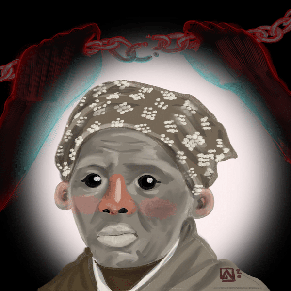 Retrato de Harriet Tubman